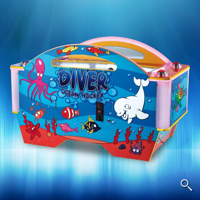 Infantil Diver Ocean Hockey